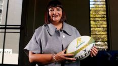 Rugby Australia CEO, Raelene Castle. Photo courtesy of AAP