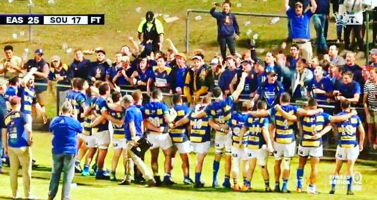 Easts semi win
