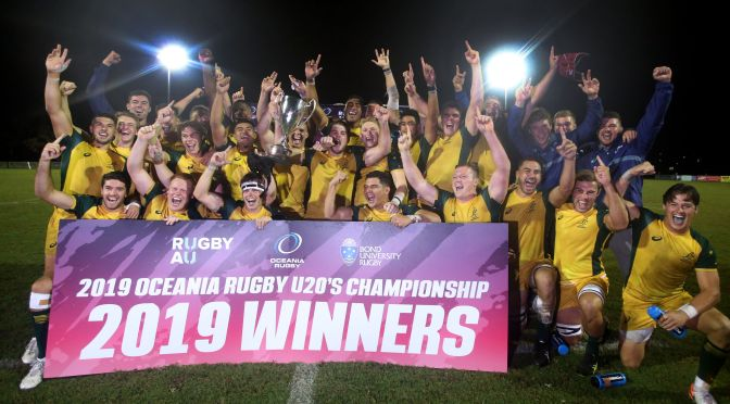 Junior Wallabies Win the Spoils Ahead of the U20 Championships In Argentina